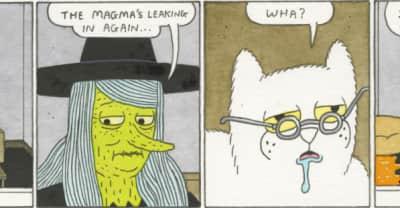 Genius artist Simon Hanselmann made us a comic