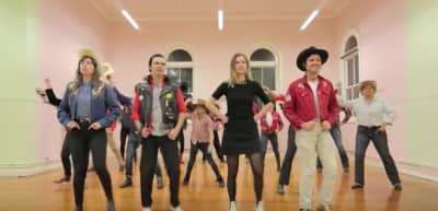 "Australian Band Terry Bring Back Line Dancing In ""Hot Heads"" Video"
