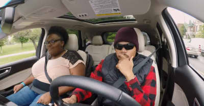 Watch Chance The Rapper surprise fans as an undercover Lyft driver