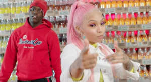 "Cuban Doll, Lil Yachty and Lil Baby wreak havoc on a grocery store in ""Bankrupt Remix"" video"