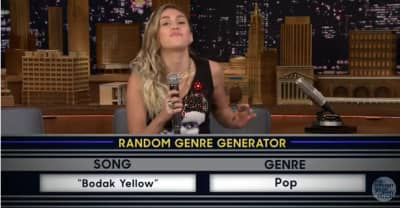 """Watch Miley Cyrus give """"Bodak Yellow"""" a pop makeover"""