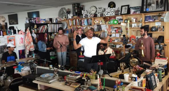 Everyone At NPR Freaked Out Over Chance The Rapper's Surprise Tiny Desk Concert