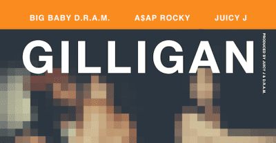 "D.R.A.M. Taps A$AP Rocky And Juicy J For New Single ""Gilligan"""