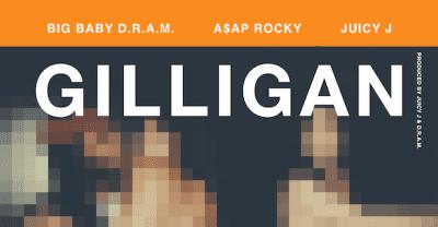 "D.R.A.M. Taps A$AP Rocky And Juicy J For New Single ""Gilligan"""