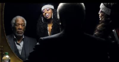Watch Missy Elliott school Morgan Freeman on how to rap