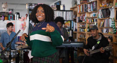 Watch Noname's NPR Tiny Desk Concert