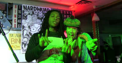 Watch Lil B celebrate 30 years of Nardwuar