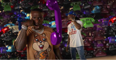 "DaBaby and Quavo are addicted to their phones in the ""Pick Up"" video"