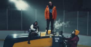 """Cashmere Cat, Diplo, and Tory Lanez hit the ice in their """"Miss You"""" video"""