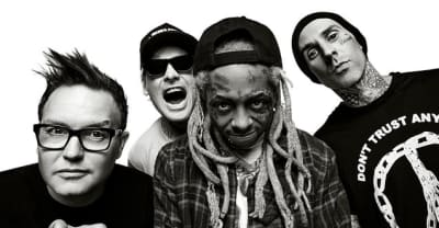 "Lil Wayne walks off stage during Blink-182 support slot, says crowd is ""not my swag"""