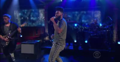 "Watch Khalid perform ""Young Dumb & Broke"" on The Late Show"