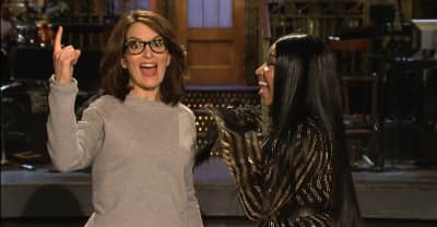 Watch Nicki Minaj and Tina Fey's SNL promos