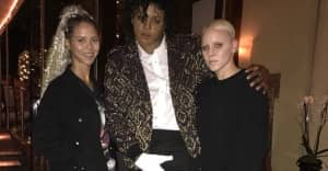 YG looked like a whole-ass Michael Jackson for Halloween