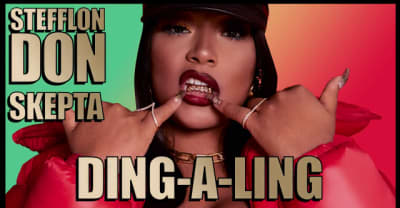 "Listen to Stefflon Don and Skepta's new track ""Ding-A-Ling"""