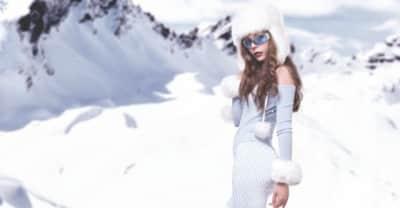 """Listen To Hannah Diamond's Wintery Ballad """"Make Believe"""""""