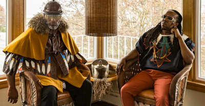 Listen To Two New Albums From Shabazz Palaces