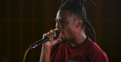 Denzel Curry goes full rap-rock with a breathless Rage Against The Machine cover