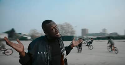 "Stormzy takes over London in his ""Vossi Bop"" video"