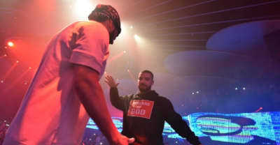 Watch French Montana Bring Drake On Stage
