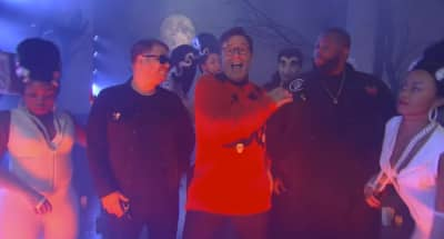 "Run The Jewels Joined Stephen Colbert To Perform ""The Halloween Wiggle"""
