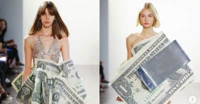 We wear money because we'll never be able to own enough of it