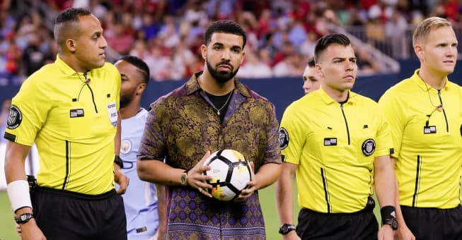 Hide your favorite soccer team from Drake