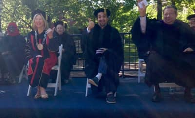 Lin-Manuel Miranda Gave The Commencement Address At UPenn