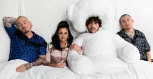 """Benny Blanco, Selena Gomez, J Balvin, and Tainy share """"I Can't Get Enough"""""""
