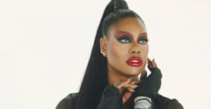 "Laverne Cox drops first-ever music video with ""Beat for the Gods"""