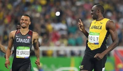 Usain Bolt's Finish Line Antics Have The Internet Going Crazy
