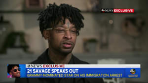 21 Savage says his lawyers believe he was targeted by ICE for rapping about immigration control