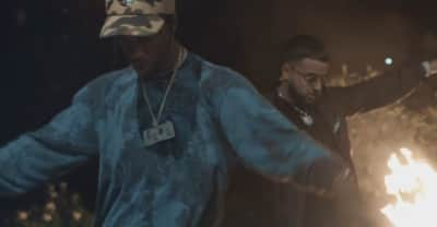 "Nav and Travis Scott share ""Champion"" video"
