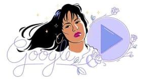 Google celebrates Selena's 1989 debut album with a new Doodle