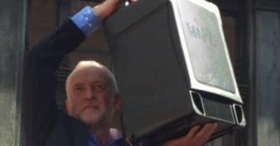Jeremy Corbyn Holding A Speaker Is The U.K.'s Favorite New Meme