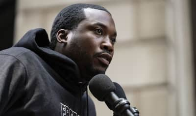Meek Mill definitely has something in the works