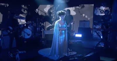 "Watch Angel Olsen perform ""Chance"" on Kimmel"