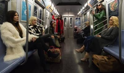 Watch a new trailer for Ocean's 8