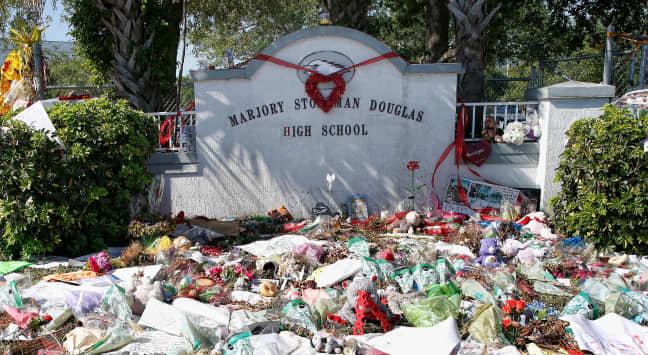 "Menswear label defends ""repulsive"" school shooting-themed sweatshirts"