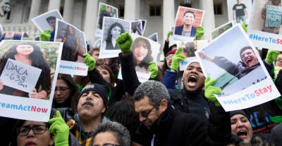 A federal judge has ordered Trump to temporarily restart DACA