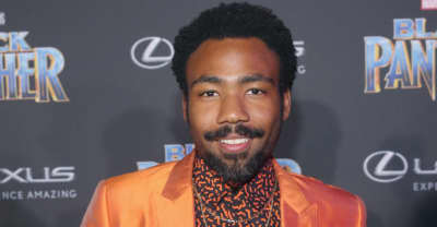 Donald Glover contributed to a draft of Black Panther's script