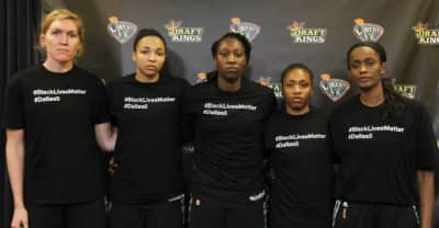 Two WNBA Teams Continue To Support Black Lives Matter Despite Fines