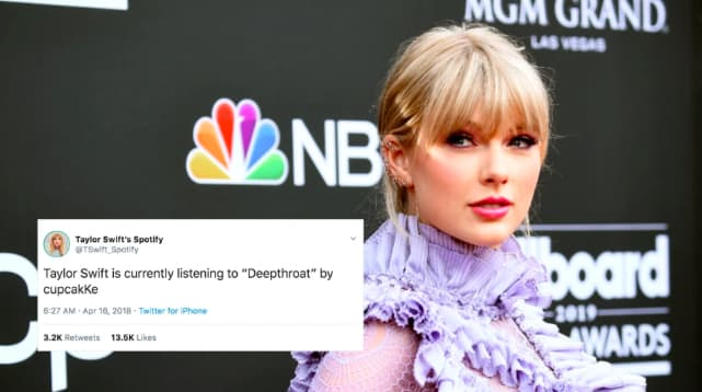 This Taylor Swift Stan Account Is Creating Music Streaming Fan Fiction The Fader