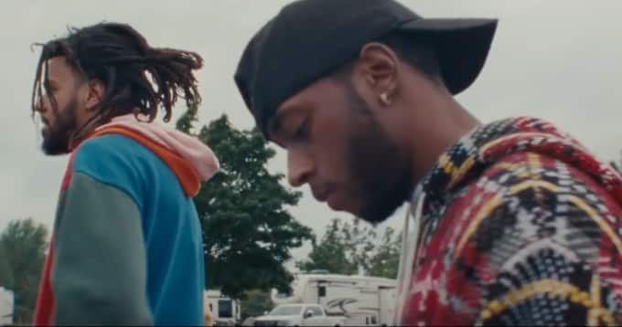 6lack And J Cole Share Pretty Little Fears