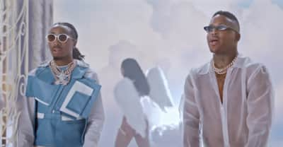 """YG and Quavo go to heaven for the """"Slay"""" video"""