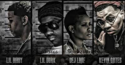 """Lil Bibby Enlists Kevin Gates, DeJ Loaf, And Lil Durk For """"You Ain't Gang (Remix)"""""""