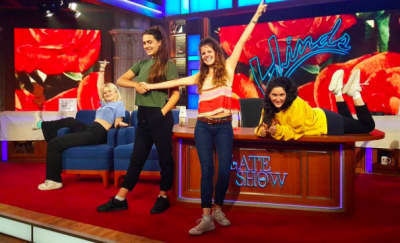 Hinds Make TV Debut On The Late Show With Stephen Colbert
