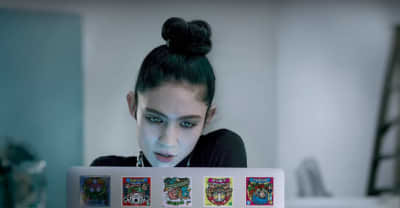 Grimes debuts new music in Apple commercial
