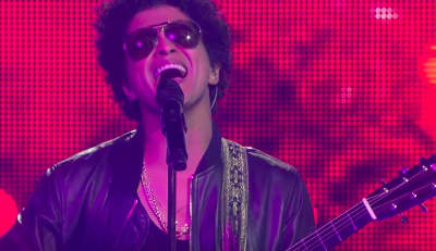 "Watch Bruno Mars perform a Spanish rendition of ""Just The Way You Are"""