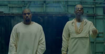 "Watch Juicy J's ""Ballin"" Video With Kanye West"