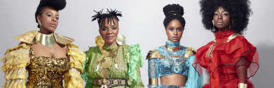 """Les Amazones D'Afriques share the healing power of """"Love"""""""